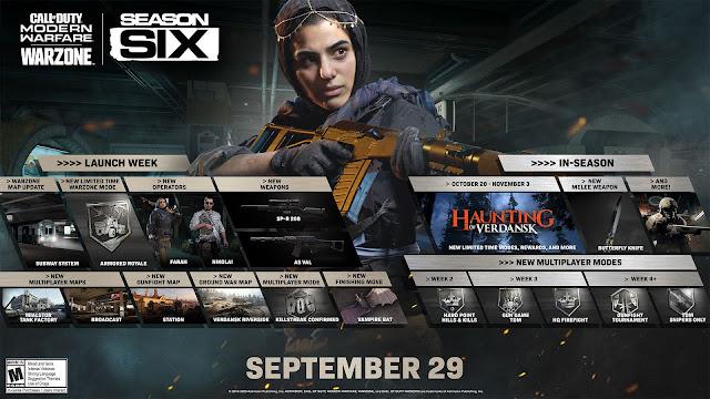 Call of Duty Season 6 Warzone new updates