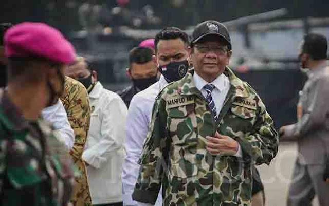 Waketum Gerindra Anggap Mahfud MD Sengaja Takut-takuti Masyarakat
