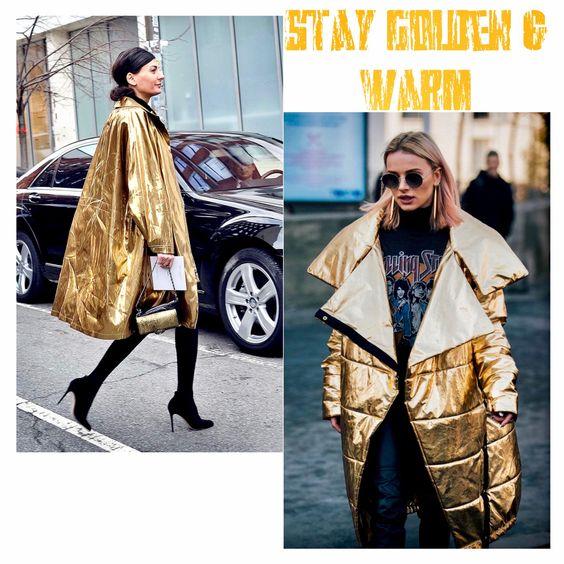 Pinterest Gold Street Style