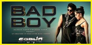 Bad Boy lyrics - Saaho | Badshah & Neeti Mohan