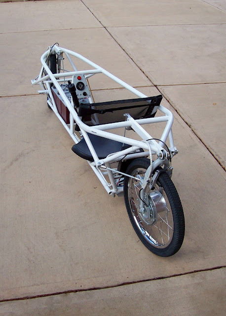 Robert Horn 2 Wheel Steering Electric Recumbent
