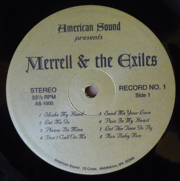 Merrell And The Exiles Please Be Mine Too Many Heartbreaks