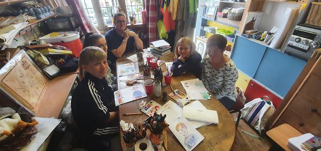 Karen Thompson, Drawing Experience, Workshop, Scarborough, karent.co.uk