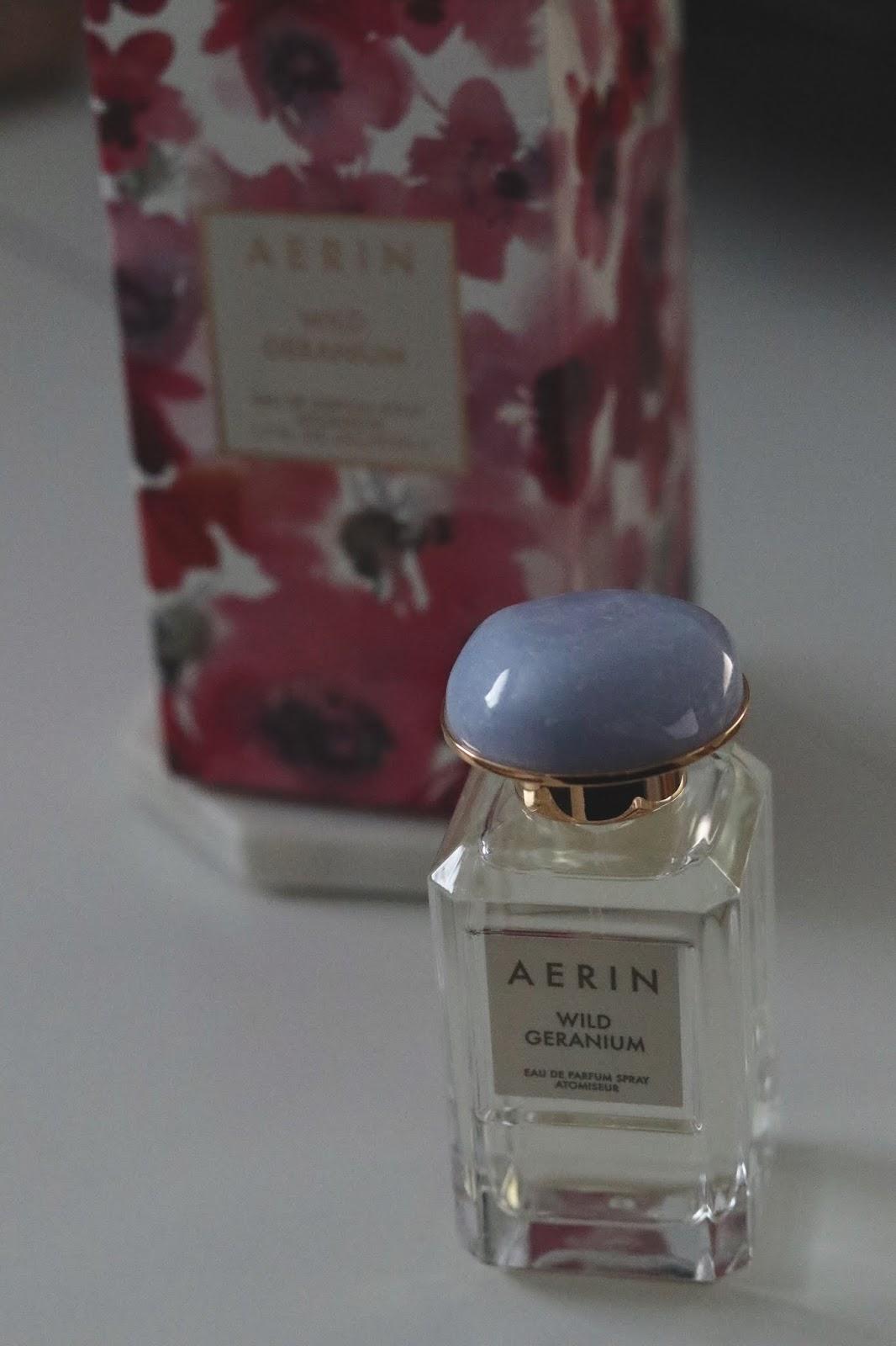 AERIN Wild Geranium eau de parfum: A quick review