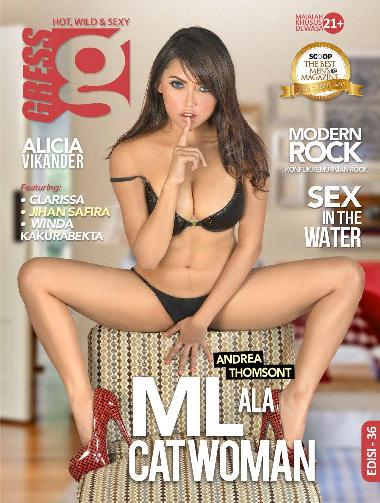 Download Majalah GRESS Magazine ED. 36 - Maret 2016 Majalah GRESS ED.36 : Clarissa, Jihan Safira, Andrea Thomsont, Winda Kakurabekta GRESS is HOT, WILD & SEXY | www.insight-zone.com