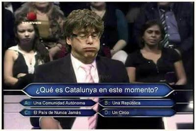 Meme Puigdemont - Qué es Cataluña en este momento