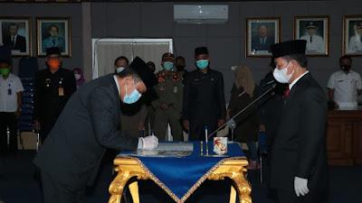 Tiga Pejabat Pemkab Lampura di Lantik Hari ini