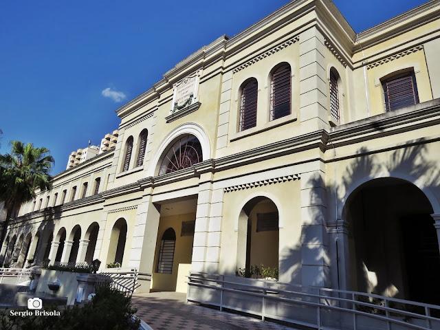Vista lateral da fachada do Museu da Imigração do Estado de São Paulo - Mooca - São Paulo
