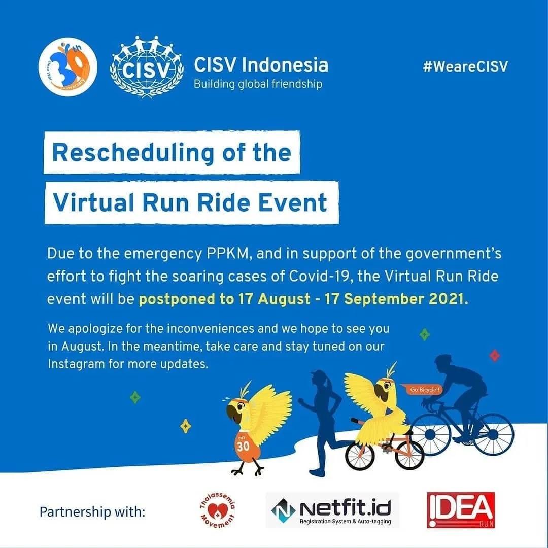 Move for Thalassemia - Virtual Ride & Run • 2020