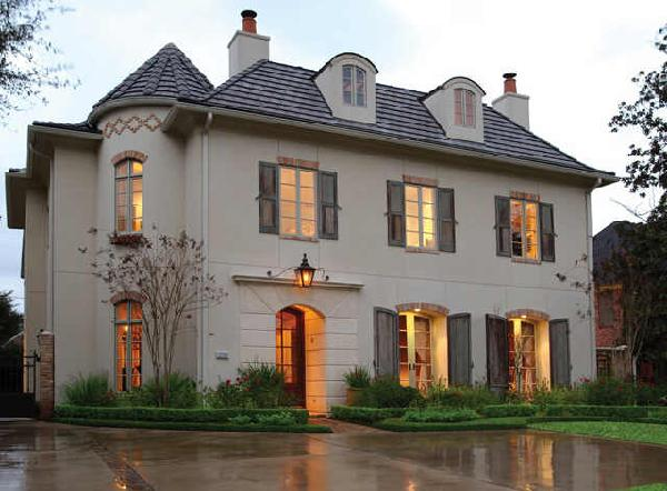 Art now and then french provincial architecture - What is french country style ...