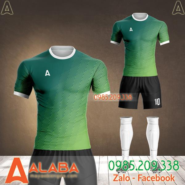 áo bóng đá màu xanh 2021