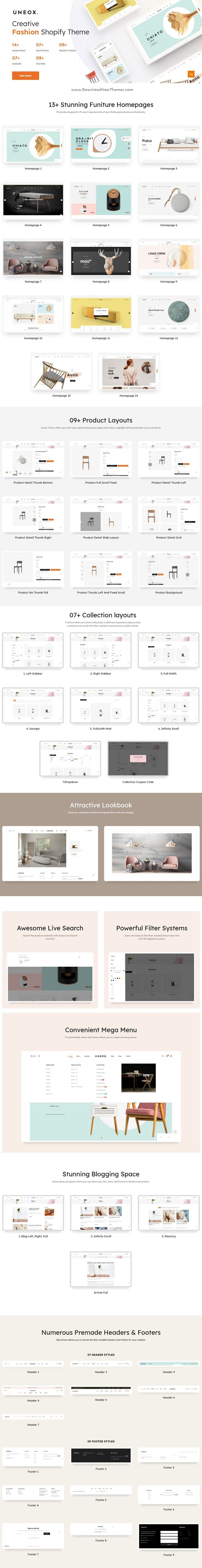 Multipurpose Shopify Sections Theme