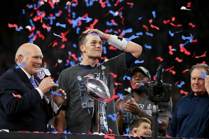 Patriotas de Nueva Inglaterra, Camepeones del Super Bowl LI, 2017. Remontaron un marcador de 28-3, para terminar ganando 34-28 | Ximinia