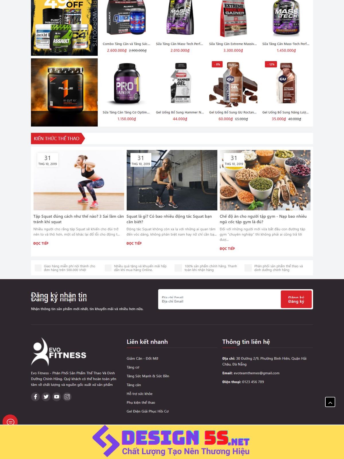 Theme blogspot bán hàng, thực phẩm chức năng VSM83 - Ảnh 2