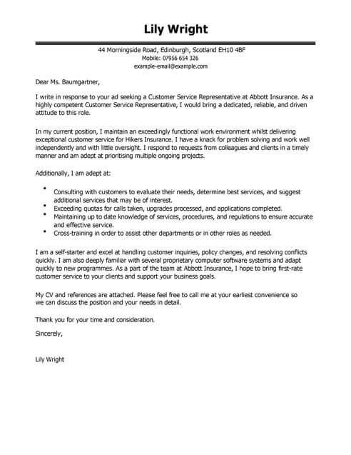 How To Write A Cover Letter For Cv Uk