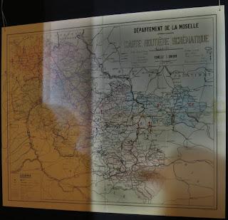 Carte évacuation des mosellans