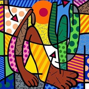Pinturas de Romero Britto