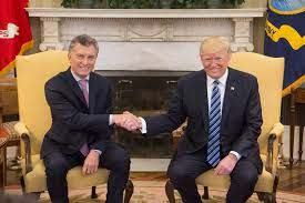President Trump with another President.