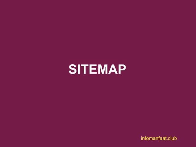 Cara membuat sitemap di blogger
