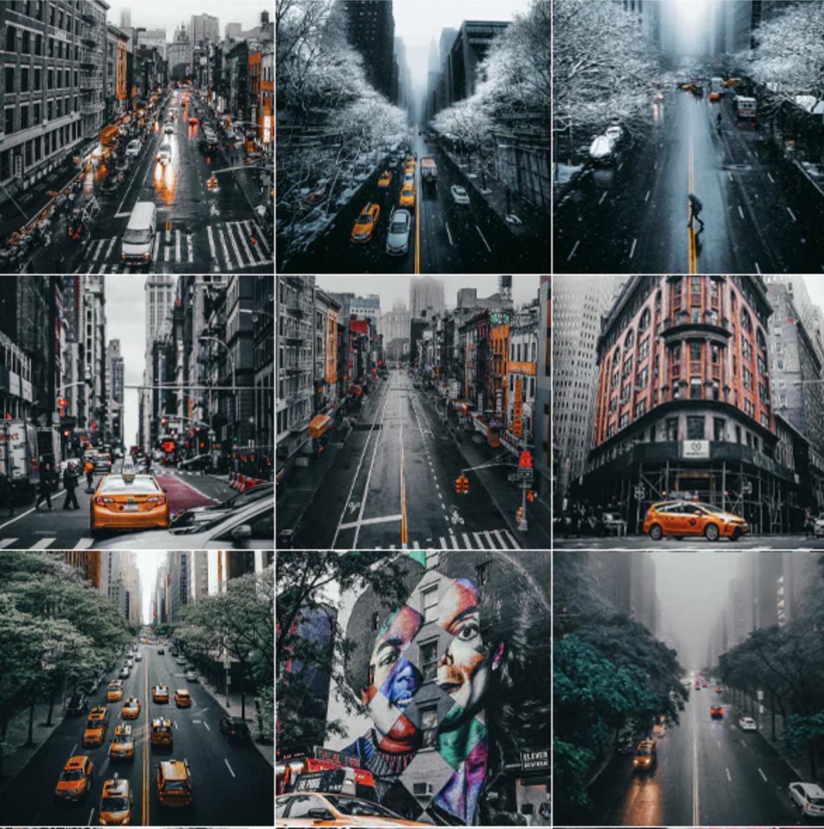 Streetographie - Cinematic Lightroom Presets (XMP, DNG)