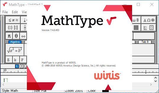 Tải MathType 7.4 Full Keygen Mới Nhất - Phần mềm viết ký hiệu toán học