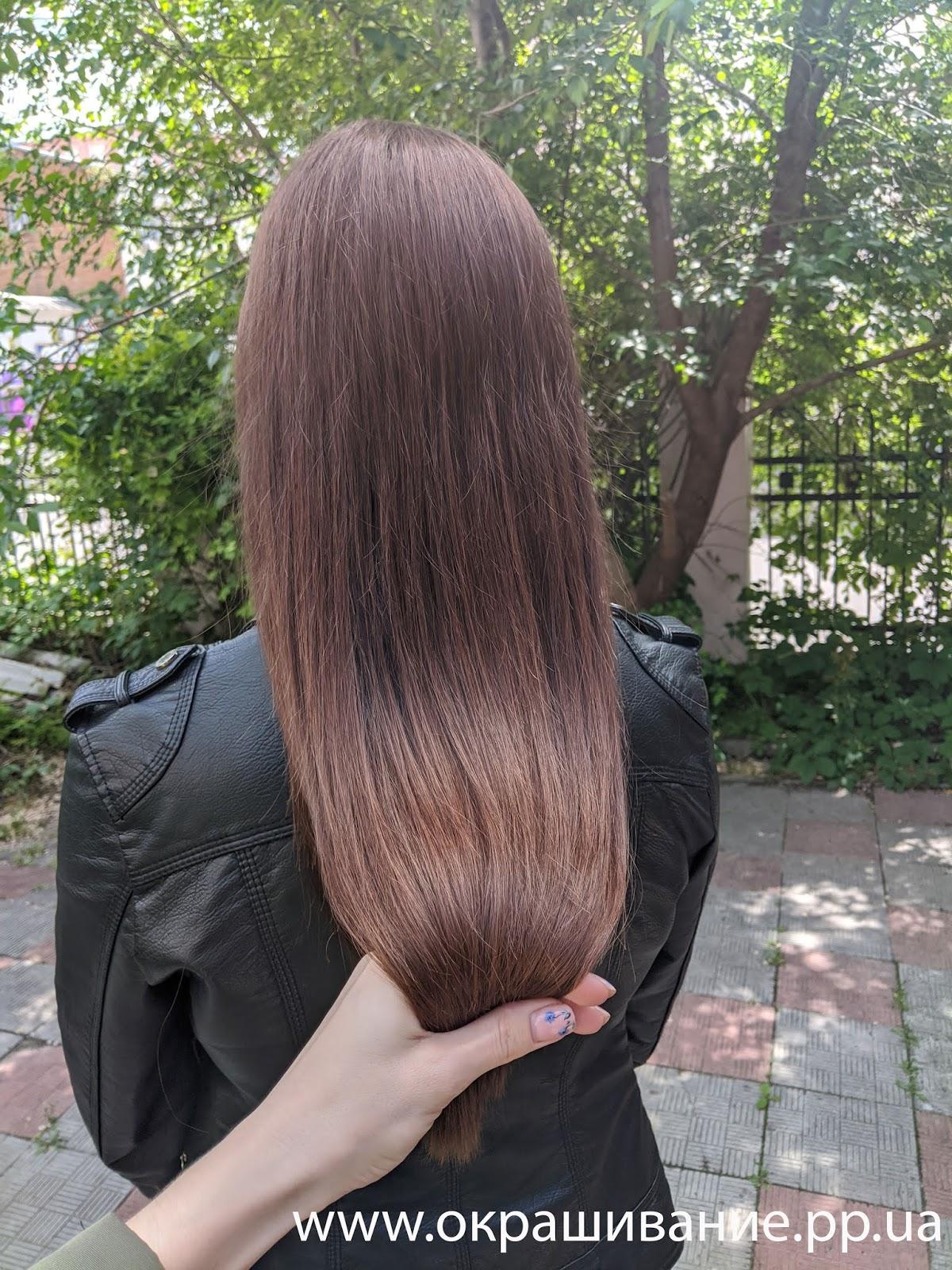 Цвет волос бежевый шатен