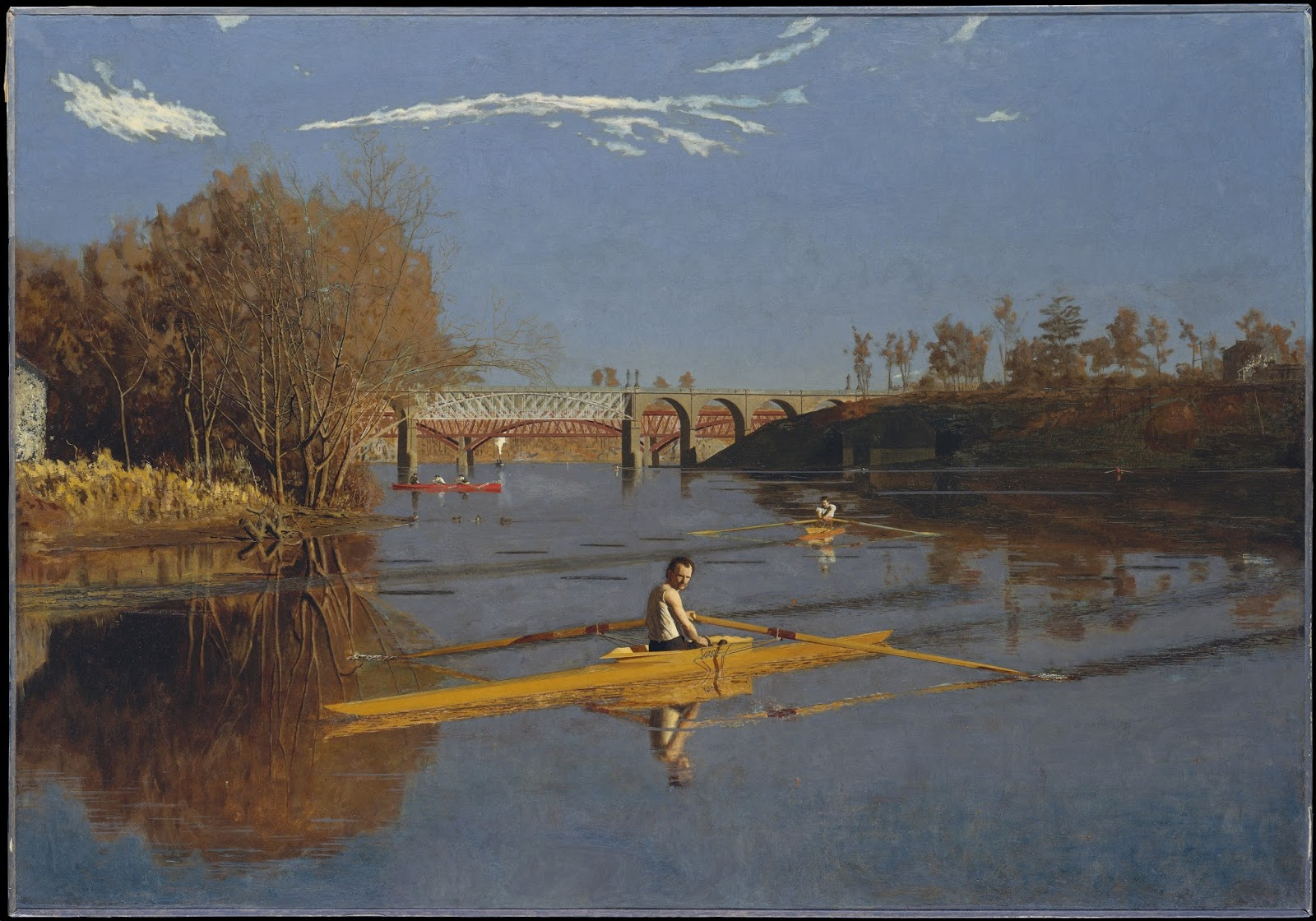 surface fragments: Thomas Eakins Perspective Fail