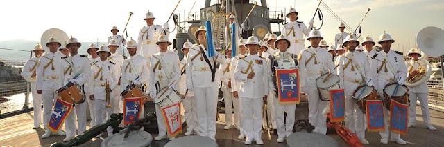 Η μπάντα του Ελληνικού Πολεμικού Ναυτικού σε μια μοναδική συναυλία στο Ναύπλιο