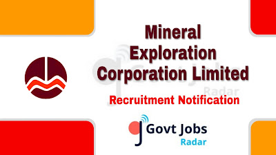 MECL Recruitment Notification 2019, MECL Recruitment 2019 Latest, govt jobs in India, central govt jobs, latest MECL Recruitment Notification update