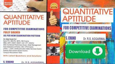 Quantitative Aptitude Maths Book PDF