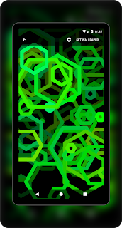 Hex amoled green