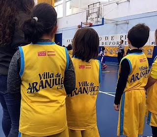 Escuela Villa Aranjuez Baloncesto