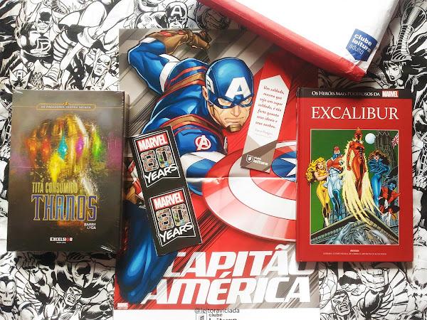 Clube Leitura Marvel #03, assinatura exclusiva dos livros Marvel!