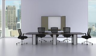 Modern Conference Table with Power