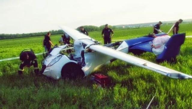 aeromobil kecelakaan