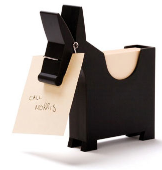 animal-shaped desktop memo holder