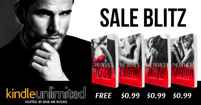 [SALE] DEVIL'S KISS SERIES by Gemma James @gemmajames80 @GiveMeBooksBlog
