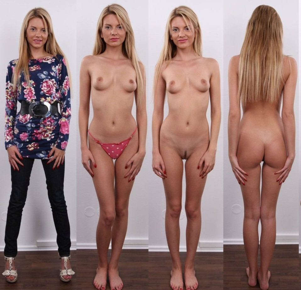 czech casting dressed and undressed