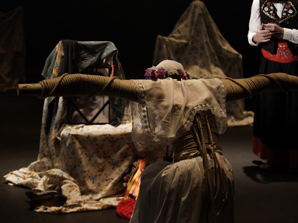 Une costilla sobre la mesa : Madre de Angélica Liddell