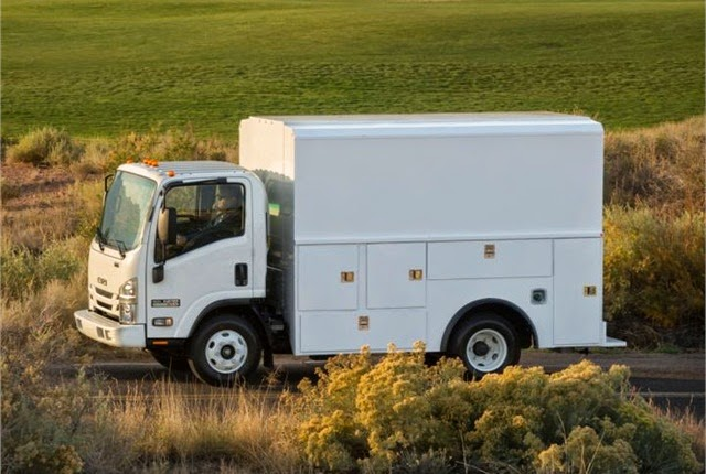 commercial truck success blog: reading introduces isuzu npr with