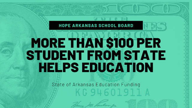 Hope School Board makes plans to impove education with additional $101 per student in state foundation funding