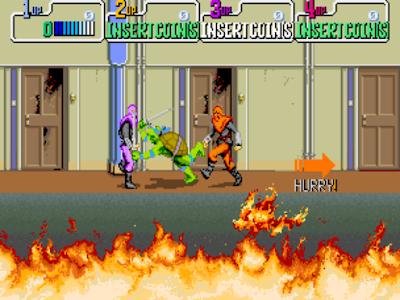 街機大型機台電玩忍者龜1代+作弊碼金手指(無敵、無限能量),經典不朽的動作冒險遊戲!