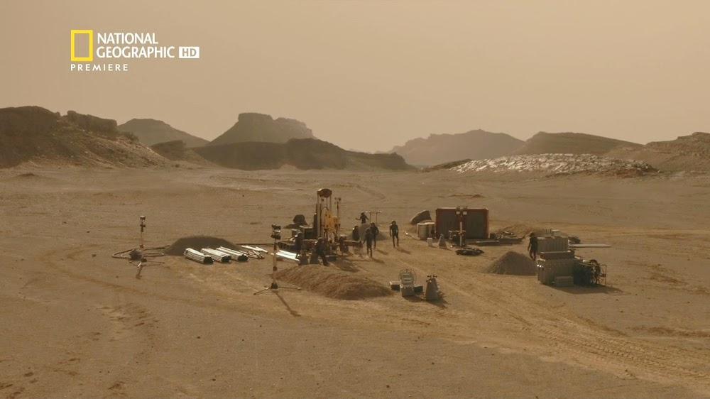 National Geographic MARS - episode 5, season 2 (mining site)