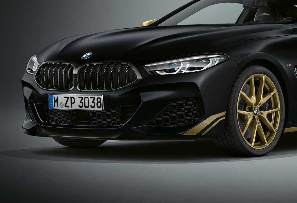 BMW 8-Series phiên bản 'hoàng kim' ra mắt