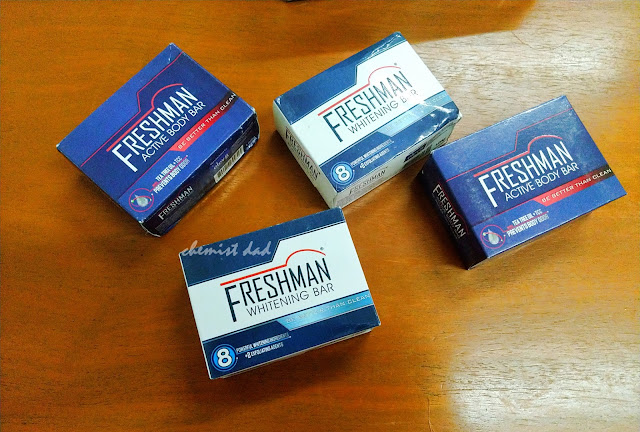Freshman, Freshman Masculine Wash, Freshman Active Body Bar, Freshman Whitening Bar, Elev8, health,