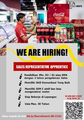 Lowongan Kerja Coca Cola Amatil Indonesia Sebagai Sales Representative Apprentice