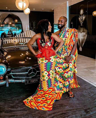 Kente Styles for Engagement
