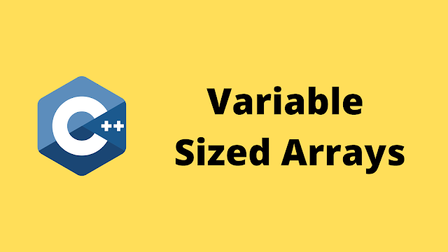 HackerRank Variable Sized Arrays solution in c++ programming