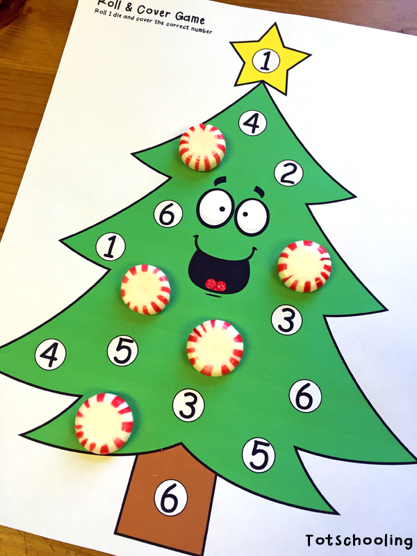 Christmas Tree Learning Activities for Toddlers  PreK - christmas tree printables