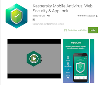 Kaspersky Mobile Antivirus for android
